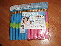 Tico Simple Self-adhesive мягкие бигуди EPE SoftSticks SUPER с липучкой 12 шт волшебные своими руками Professi