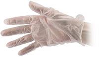 Перчатки рабочие виниловые