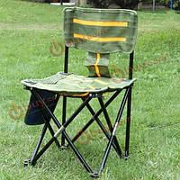 Открытый портативный полосатый стул складной рыбалка стул рыбалка инструменты