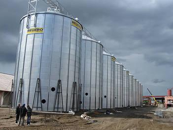 Металлические силоса для хранения зерна