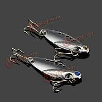 11g 5см VIB swimbait рыба приманка металла Твердые приманки приманки с рыболовный крючок