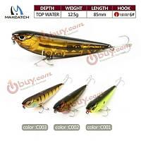 Maxcatch 8.5см гольян рыболовные приманки 12.5g искусственные приманки трудно рыболовные приманки