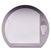 """Зеркало в ванную """"Рио - 1"""" (600 х 530 мм)"""
