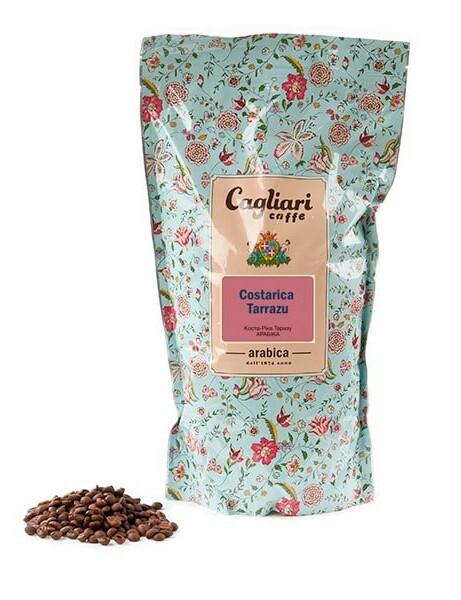 Кофе в зернах Cagliari Арабика Коста Рика Тарразу