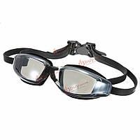 Очки для плавания с защитой от ультрафиолета силикон