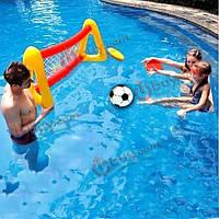 Вода надувные футбольные ворота плавание лягушатник футбол цель лягушатник футбол