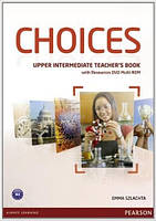 Choices Upper-Intermediate Teacher's Book & DVD Multi-ROM Pack (книга для учителя)