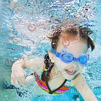 Очки для плавания детские анти- запотевающие линзы поликарбонат
