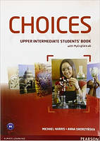 Choices Upper-Intermediate Students' Book+ MyEnglishLab (учебник+код доступа)