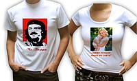 Фото на футболке в Донецке