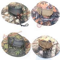 Открытый кемпинг походы шляпа шапка шляпа куст военный тактический камуфляж шляпа для охоты