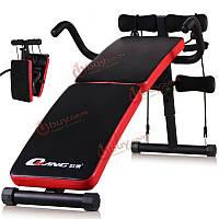 Снижение пригодности сидеть скамейки хруст доска живота оборудование для домашнего физических упражнений тренировочного
