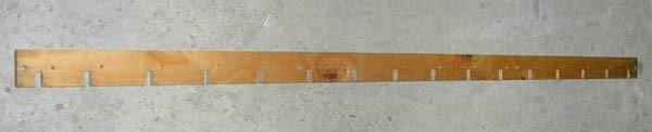 Лопасть мотовила деревянная Дон 1500