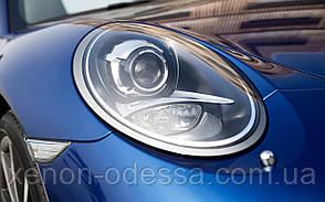 """Маска для ксеноновых линз 3.0"""" с Ангельскими и Дьявольскими глазками : Porsche 911 LED Angel + LED Devil eyes"""