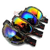 Гальванических анти туман лыжные очки, оснащенные очки водонепроницаемый альпинистские пропускает ветра очки