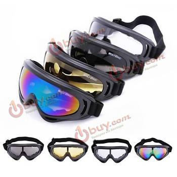 Wolfbike езда очки лыжные очки мотоцикл очки ветрозащитные