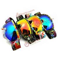Подростки лыжные очки гальваники анти туман очки