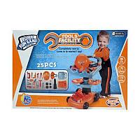 Набор инструментов с тележкой детский игровой набор 36778-50