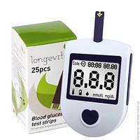Глюкометр Longevita (+ 25 тест-полосок)