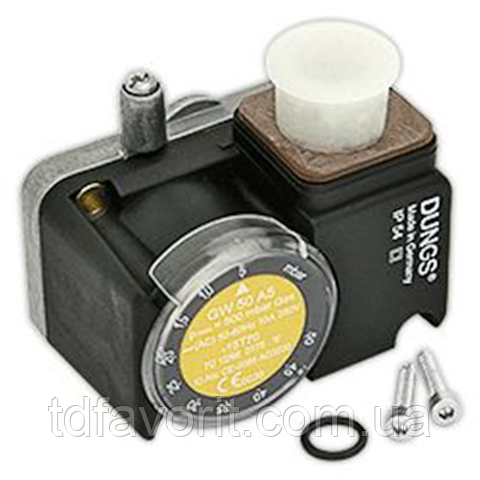 Dungs GW 10 A5, датчик реле давления газа