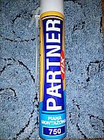 Пена монтажная ручная PARTNER-fix 750 (вес нетто 590 г.)