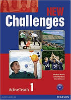 New Challenges 1 Active Teach (интерактивный курс)