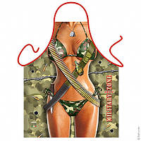 Фартук эротический Милитари женский