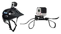 Крепление на шлем для экшн камер SJCAM, GoPro, Xiaomi, AEE, Sony