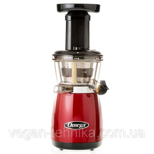 Шнековая соковыжималка Omega VRT 352FR Red