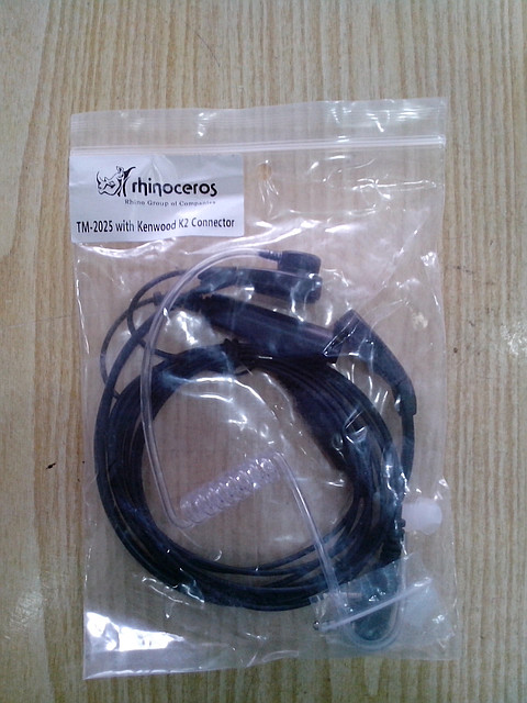 Ларингофон TM-2025 for Kenwood, Wouxun, etc