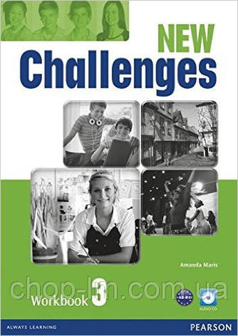 New Challenges 3 Workbook & Audio CD Pack (рабочая тетрадь/зошит), фото 2