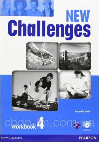 New Challenges 4 Workbook & Audio CD Pack (рабочая тетрадь/зошит)