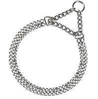 Полурывковая металлическая цепь для собак Ferplast CHROME