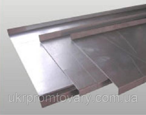 Отлив 100 мм*2м из оцинкованной стали