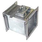 Дроссельный клапан прямоугольный ДКП 150х150 из оцинкованной стали