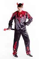 Черт в огне мужской карнавальный костюм