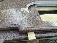 Столешница гранитная Withered 40мм Новоданиловский камень