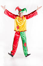 Скоморох мужской карнавальный костюм / BL - ВМ70