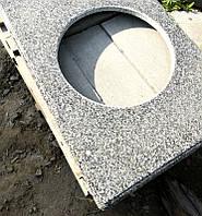 Столешница гранитная Grey Ukraine 40мм Покостовский камень