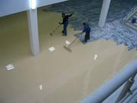 Наливной пол по свежему бетону