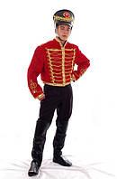 Гусар мужской исторический карнавальный костюм