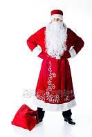 Дед Мороз мужской карнавальный костюм