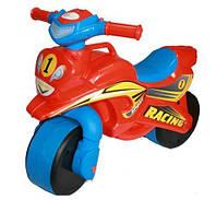 Каталка толокар детский Мотоцикл пластмассовый двухколесный Орион 0139/20