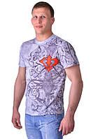 Мужская футболка для спортсменов WARRIOR SPIRIT Besrserk Sport серый