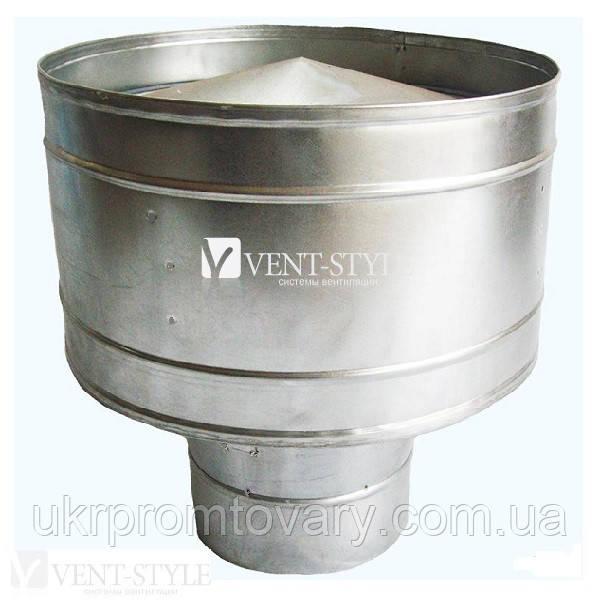 Дефлектор  двухконтурный 110/200 для системы дымоходов