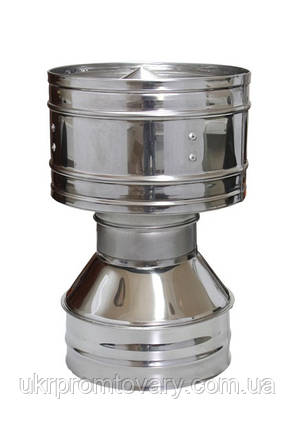 Дефлектор  двухконтурный 150/220 для системы дымоходов , фото 2
