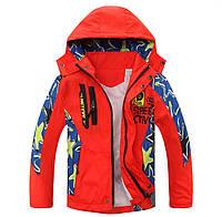 Детская демисезонная ветрозащитная куртка Active Street