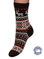 Детские шерстяные носки (Коричневый)