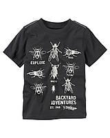 """Детская футболка """"Жучки """" Carters"""