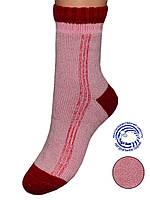Детские махровые носки (Красно-розовый)
